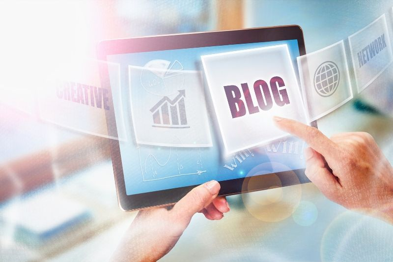 Blogging as content channel