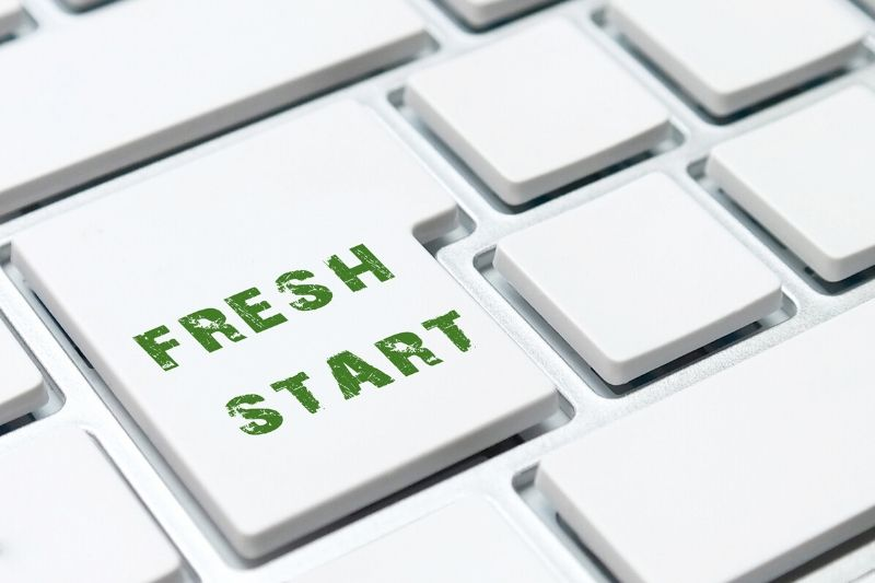 Content channels for fresh start